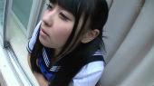 ぷりぷり美尻なさとう愛理ちゃんのJK着衣セックス画像_05