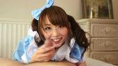 乃々果花のメイド服セックス画像_13
